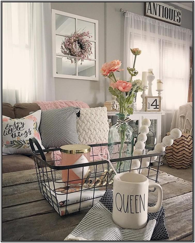 Chanel Inspired Living Room Ideas