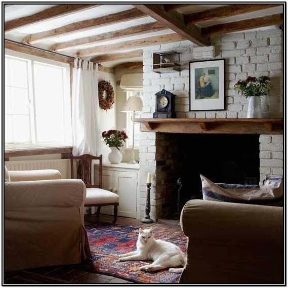 Charming Rustic Open Living Room Ideas
