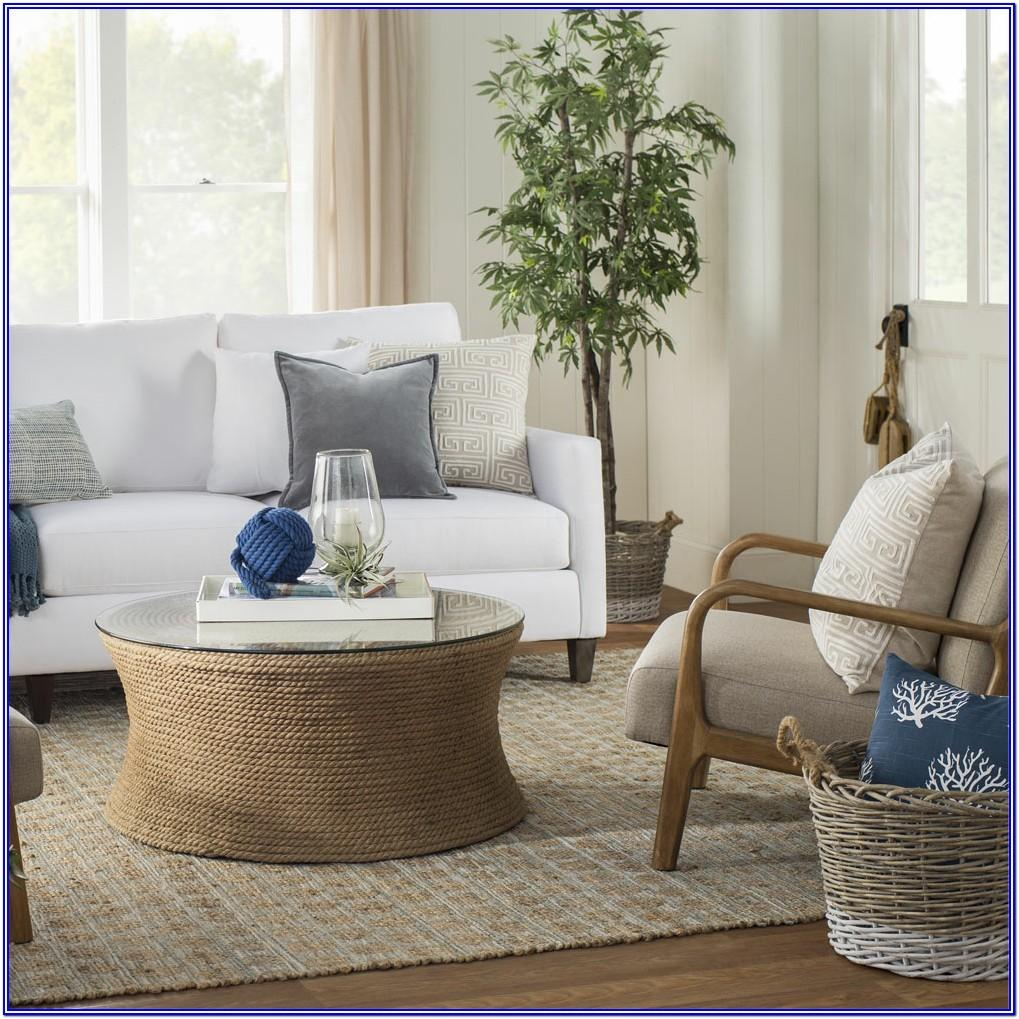 Coastal End Tables For Living Room