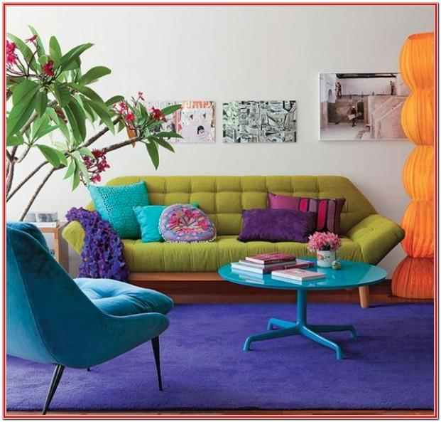 Colorful Living Room Decor Ideas