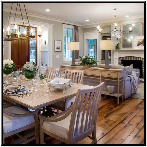 Combined Kitchen And Living Room Ideas