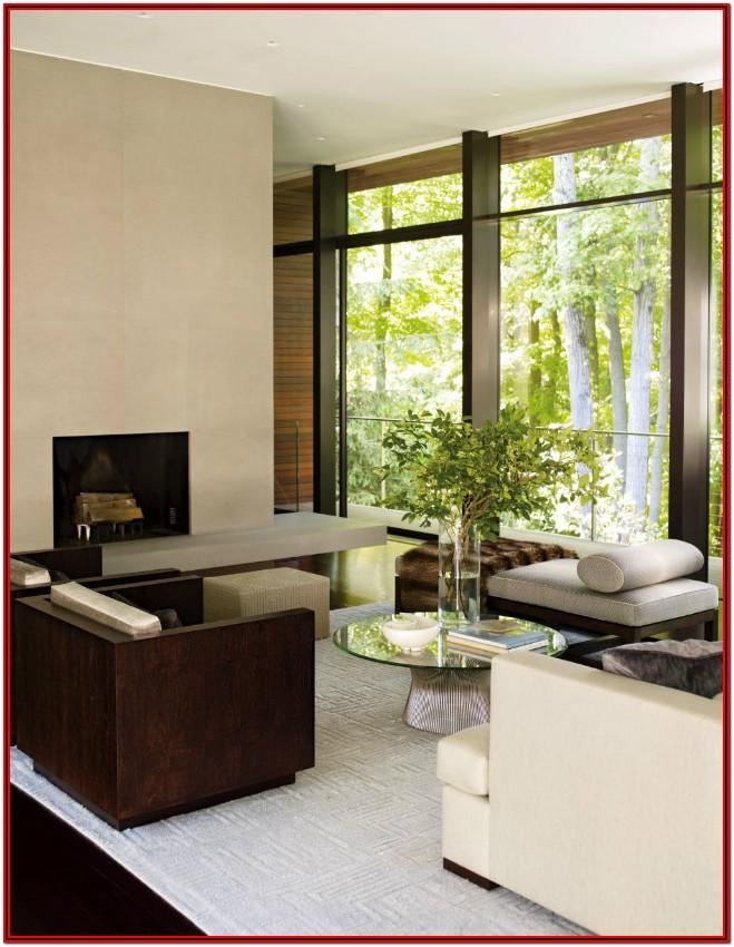 Contemporary Architectural Digest Living Room