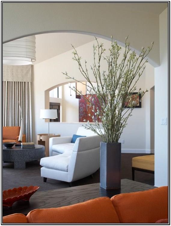 Corner Big Flower Vase For Living Room