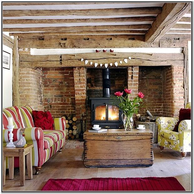 Country Style Small Country Living Room Ideas