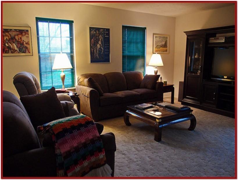 Dark Brown Carpet Living Room