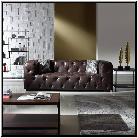 Dark Brown Couch Living Room