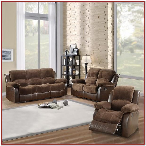 Dark Brown Living Room Set