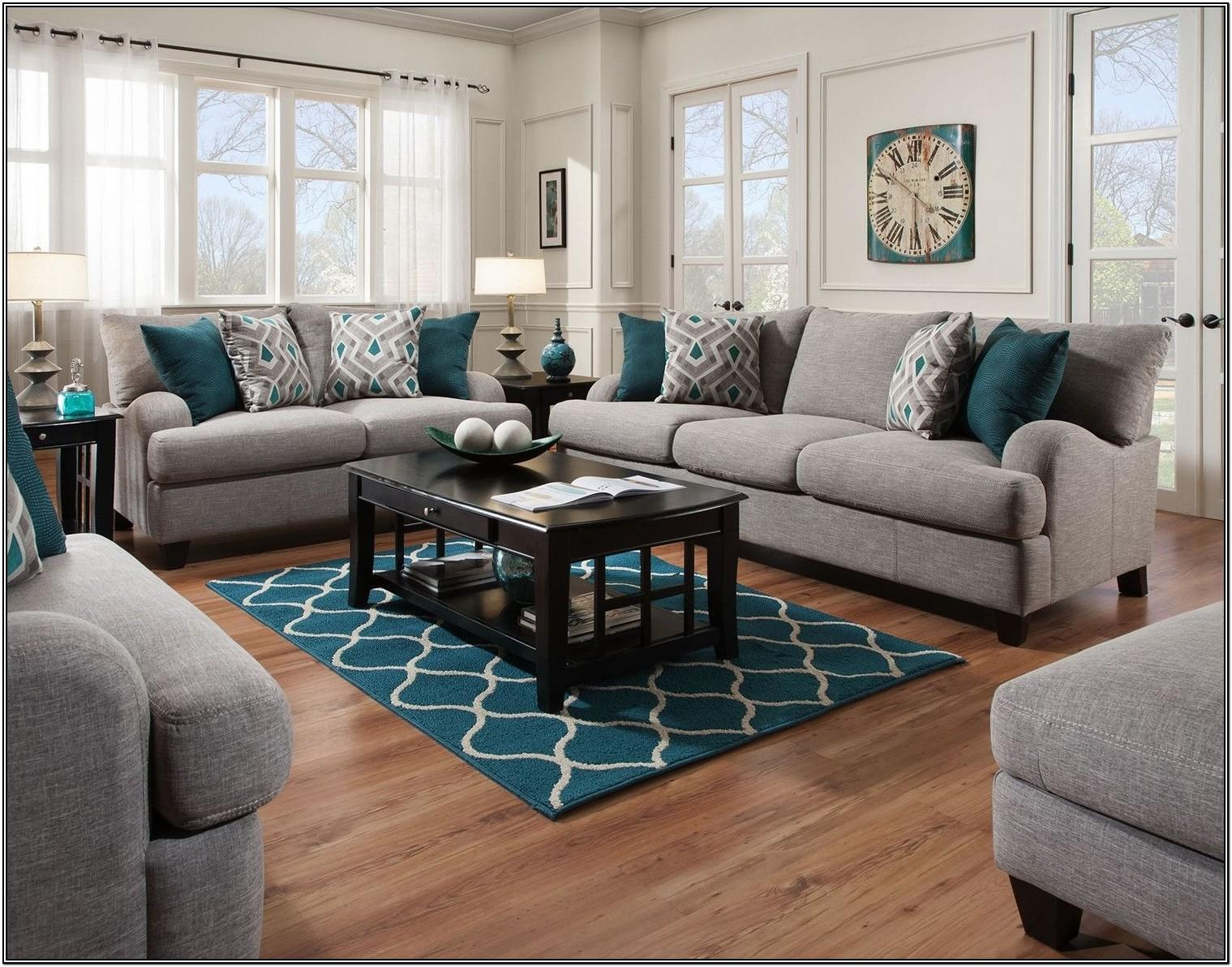 Dark Grey Gray Living Room Sets
