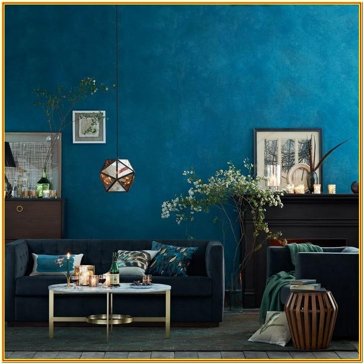 Dark Teal Living Room Ideas