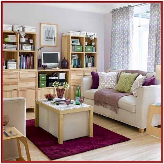 Decoracion De Living Room Pequenos