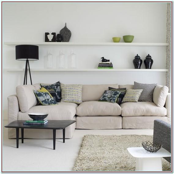 Decorating Floating Shelves In Living Room