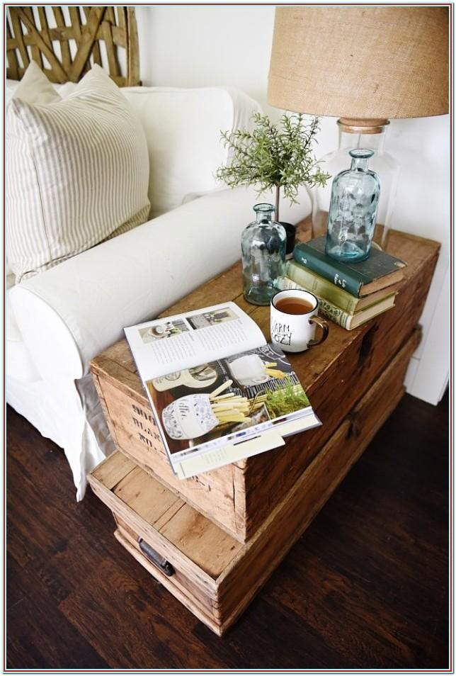 Decorating Ideas For Side Tables In Living Room