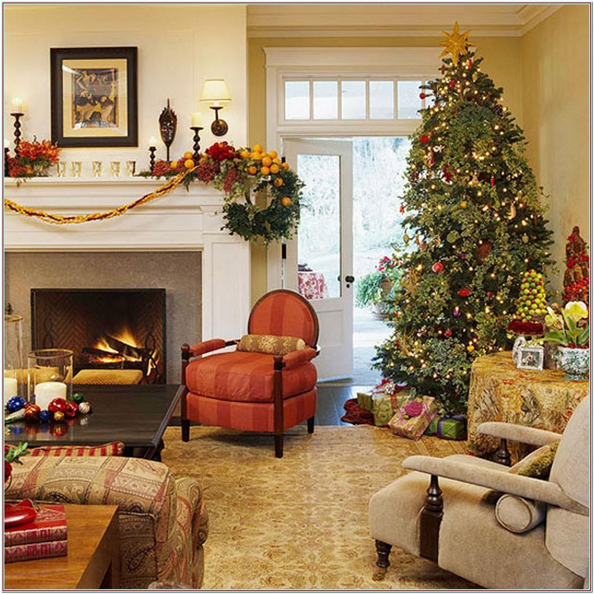 Decorating Ideas Living Room For Christmas