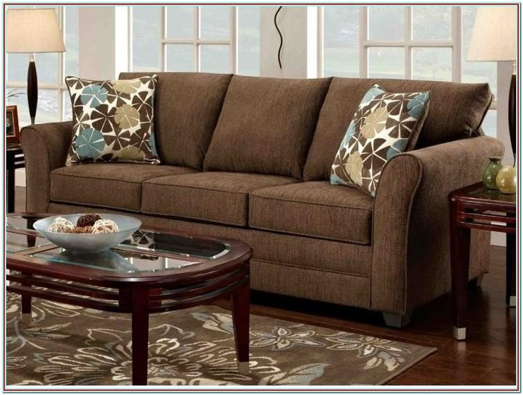 Decorating Living Room Brown Furniture