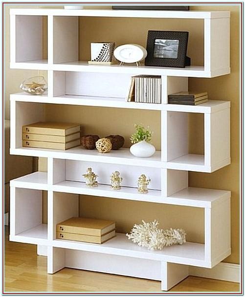 Decorating Open Shelves In Living Room
