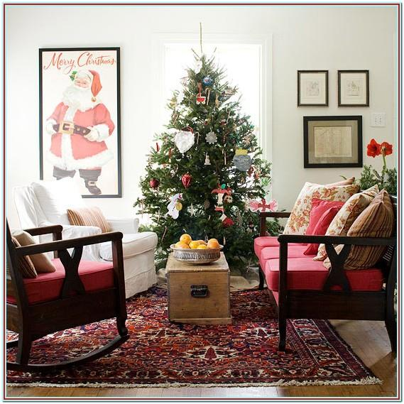 Decorating Small Living Rooms For Christmas