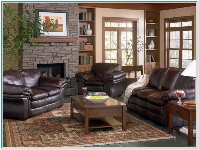 Decorating With Leather Furniture Living Room