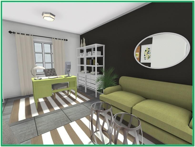 Desk Living Room Design Ideas