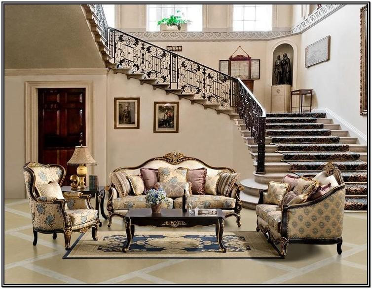 Elegant Antique Elegant Formal Living Room Furniture