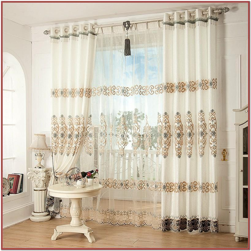 Elegant Beautiful Curtains For Living Room
