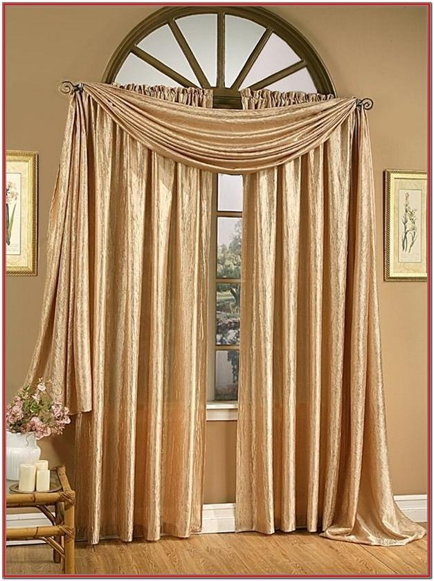 Elegant Living Room Curtains And Valances