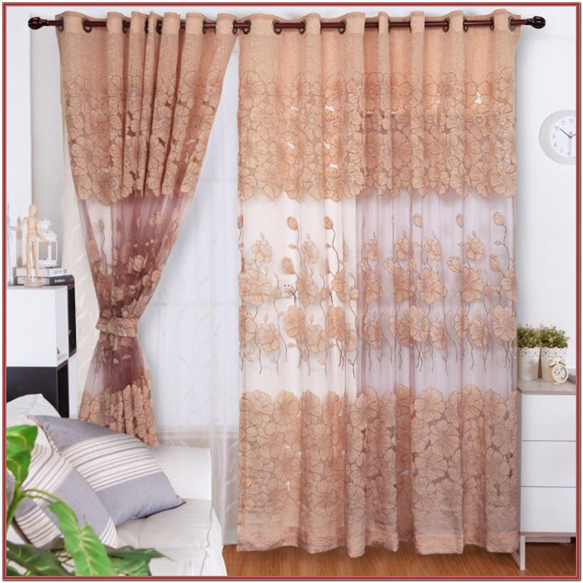 Elegant Sheer Living Room Curtains