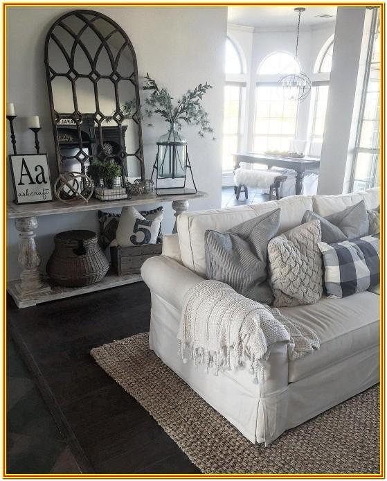Farmhouse Living Pinterest Living Room Decorating Ideas