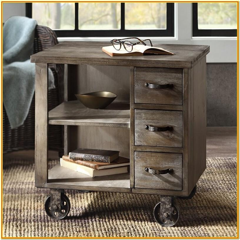 Farmhouse Living Room End Tables