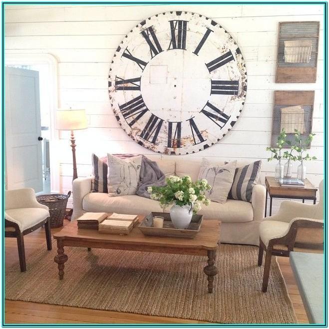 Farmhouse Magnolia Living Room Ideas