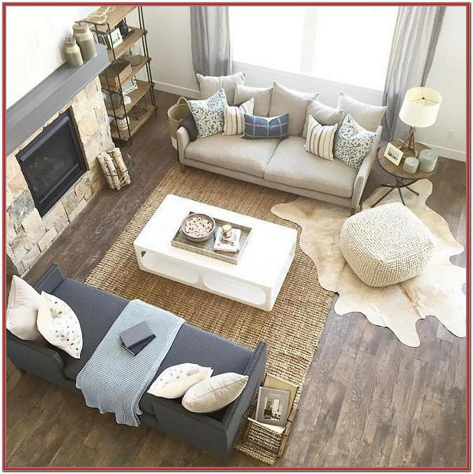 Farmhouse Modern Living Room Rugs