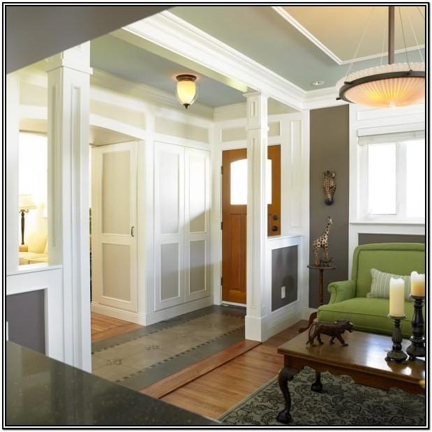 Front Door Entrance Into Living Room