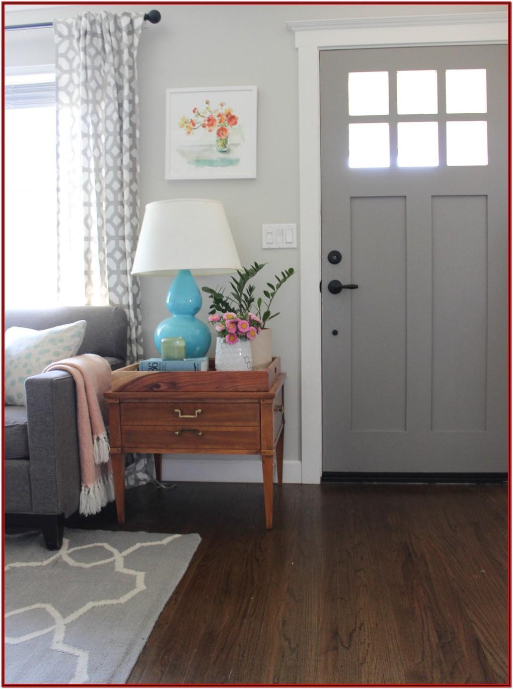 Front Door Entry Into Living Room