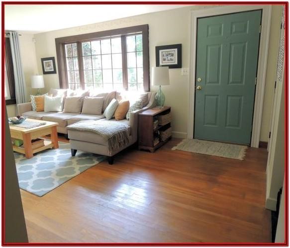 Front Door In Living Room Ideas