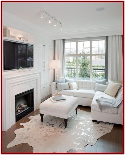Front Door Opens Into Small Living Room