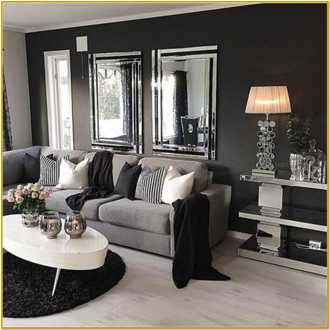Gray And Black Living Room Furniture