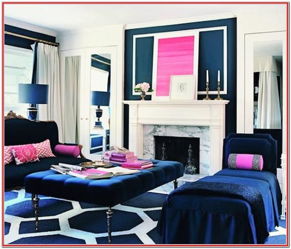 Gray And Hot Pink Living Room Ideas