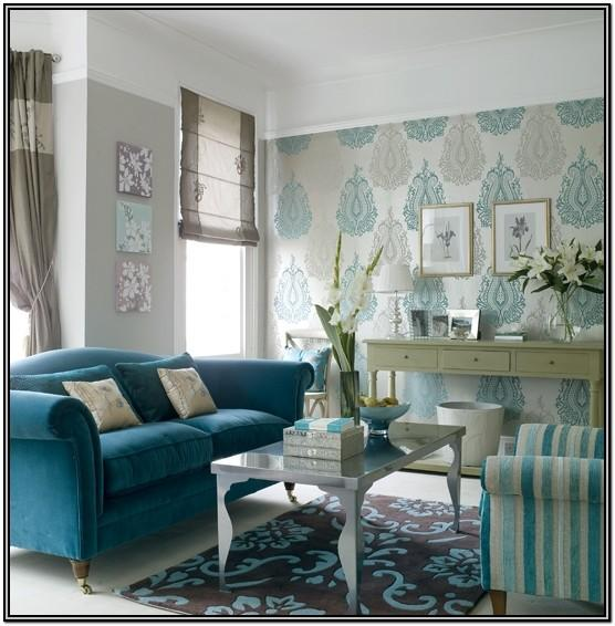 Gray And Turquoise Living Room Ideas