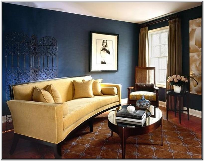 Gray Blue And Brown Living Room Ideas