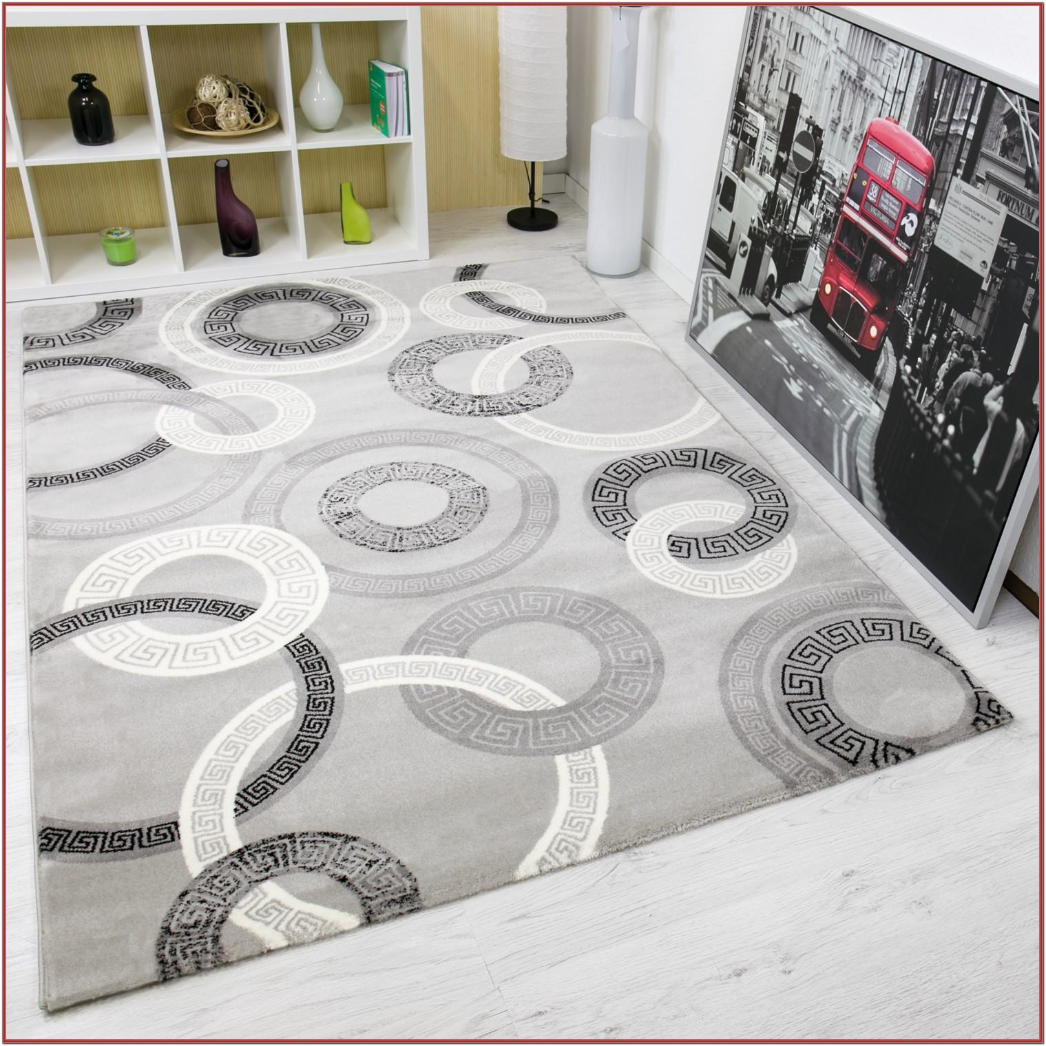 Gray Modern Living Room Rugs