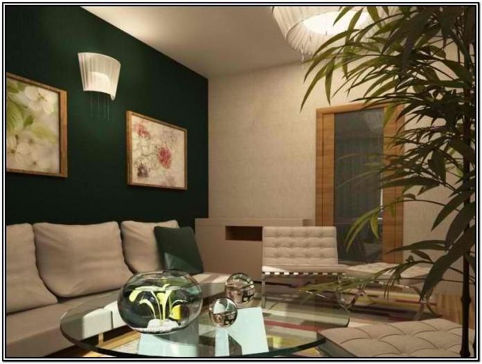 Green And Gold Living Room Ideas