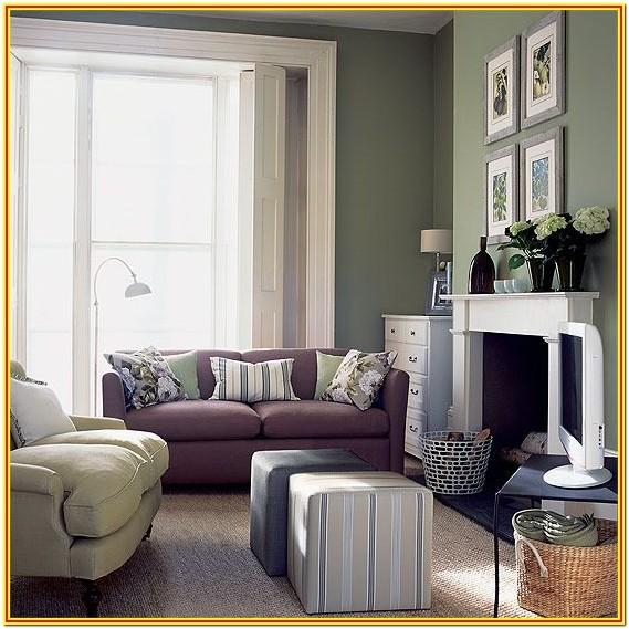 Green Gray And Tan Living Room