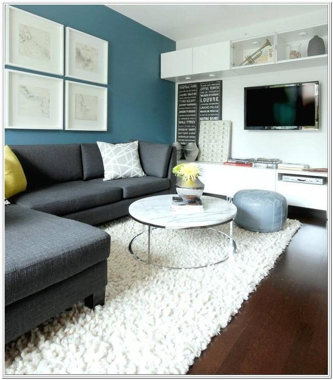 Grey Accent Wall Living Room Ideas