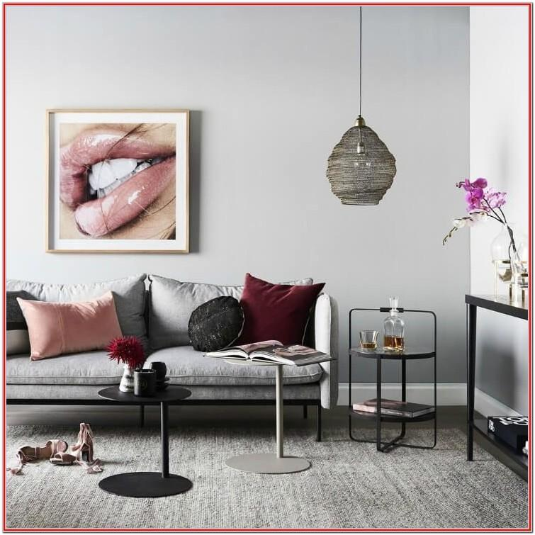 Grey And Burgundy Living Room Decor