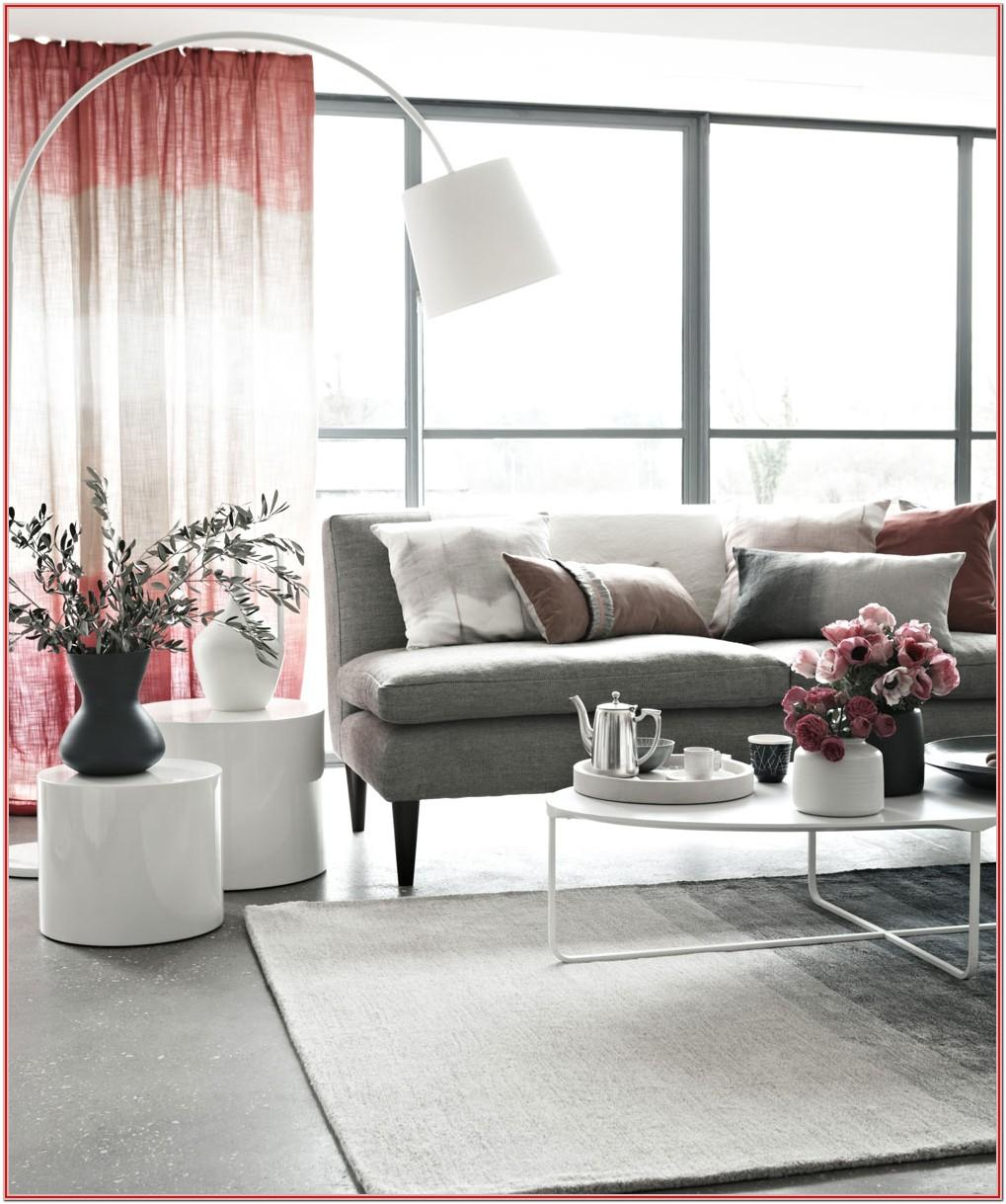 Grey And Hot Pink Living Room Ideas
