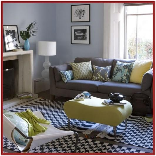Grey And Navy Blue Living Room Decor