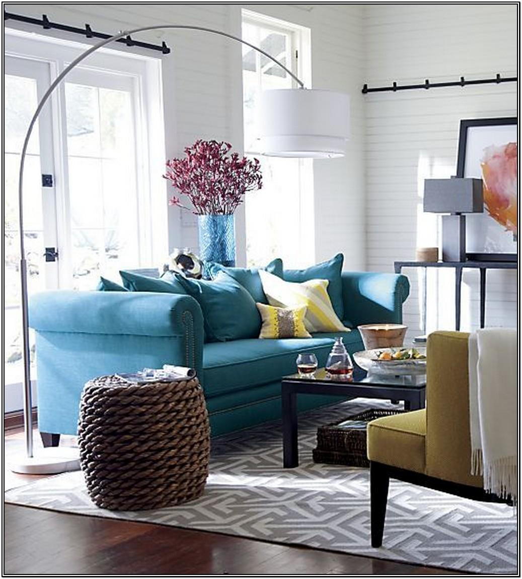 Grey Blue Yellow Living Room Ideas