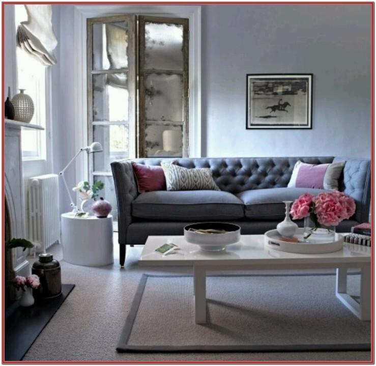 Grey Couch Living Room Design