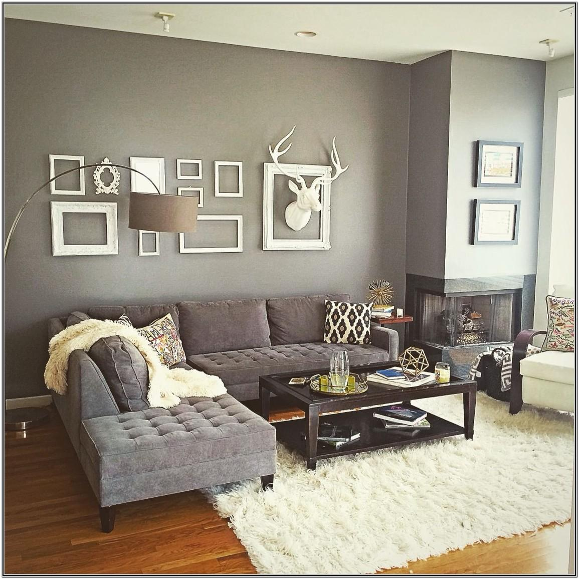 Grey Small Modern Living Room Decor