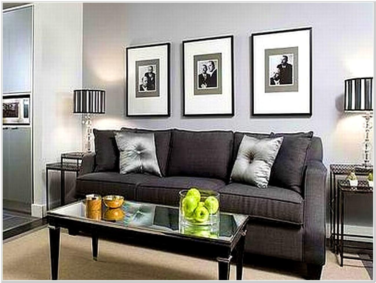 Grey Wall Living Room Decor Ideas