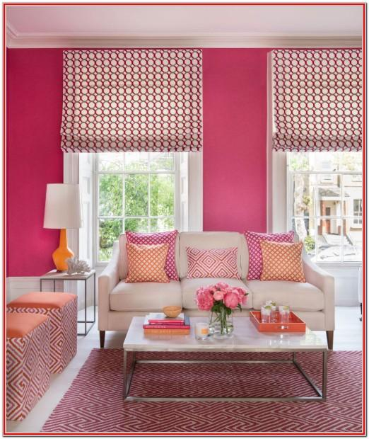Hot Pink Living Room Ideas